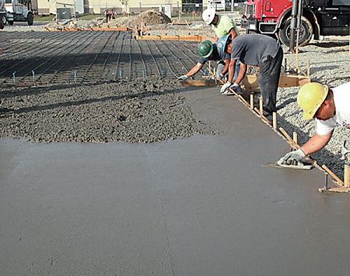 Ускорители затвердевания актуальны, когда необходимо быстро произвести бетонирование