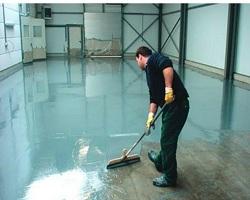 Покрытие бетонных полов жидким стеклом