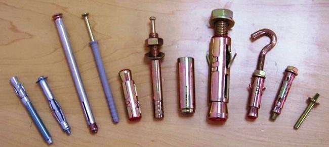 Разновидности крепежей для пено и газобетона