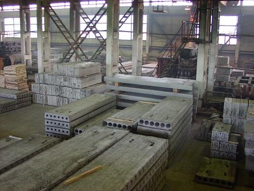 Производство полых железобетонных плит на Орбита-строй