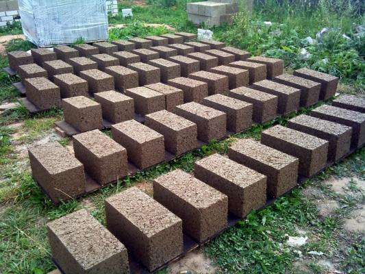 Блоки на сушке