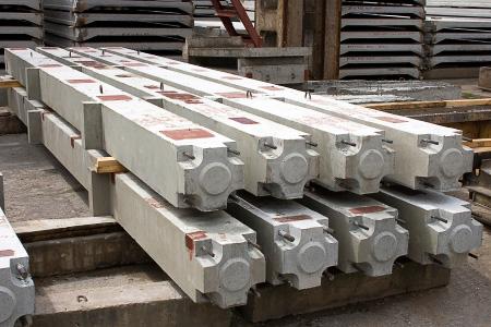 Железобетонные колонны для каркаса здания