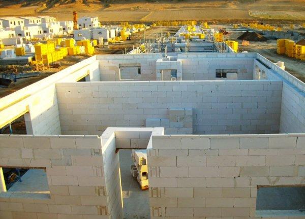 Строительство одноэтажного дома из блоков Ytong