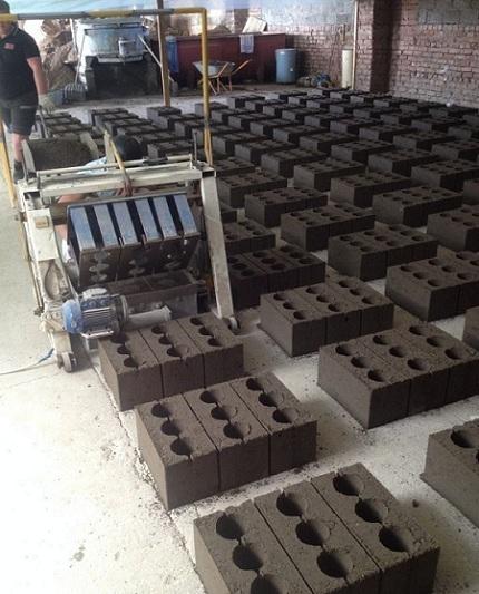 Процесс производства керамзитобетонных блоков