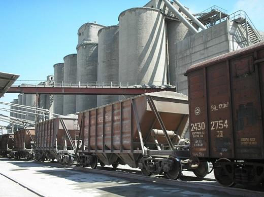 Территория цементного завода