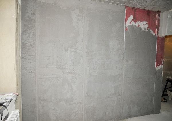 Кнауф Адгезив на стене