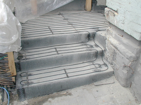 Прогрев бетона с помощью провода ПНСВ