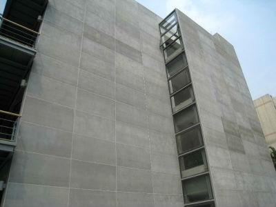 Здание отделанное ЦСП