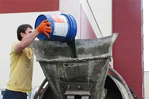 Изоляция с помощью добавки в бетон для гидроизоляции