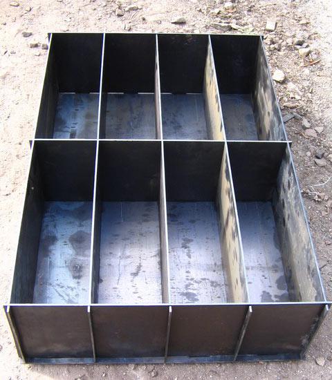 Формы для блоков из стали