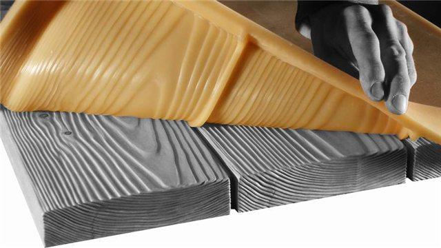 Особенно удобны гибкие полиуретановые формы