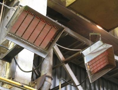 Применение инфракрасных излучателей для прогрева бетона в зимнее время