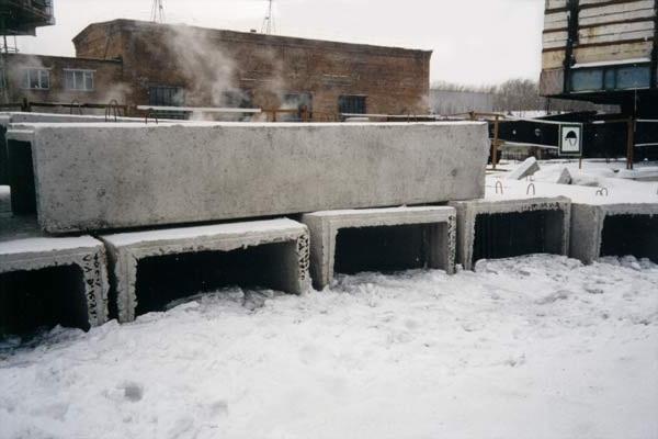 ЖБИ на морозе