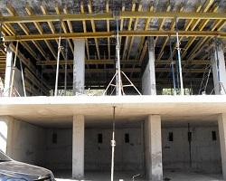 Монолитное строительство здания