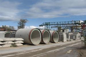 Круглые бетонные трубы