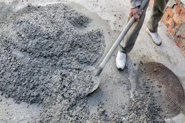 Цемент готов к использовании