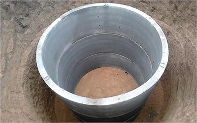 Бетонные кольца для выгребных ям