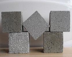 Испытуемые образцы бетона