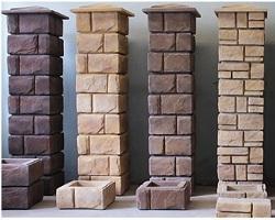 Блоки для строительства заборов