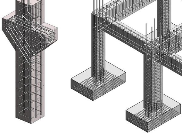Армирование бетонной конструкции
